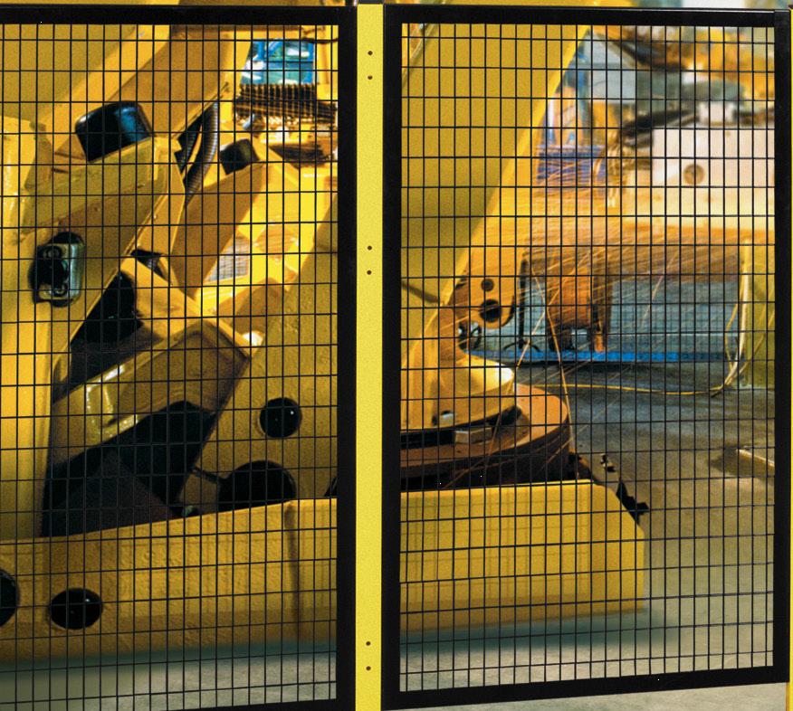 Seguridad Maquinaria con Mallas soldadas