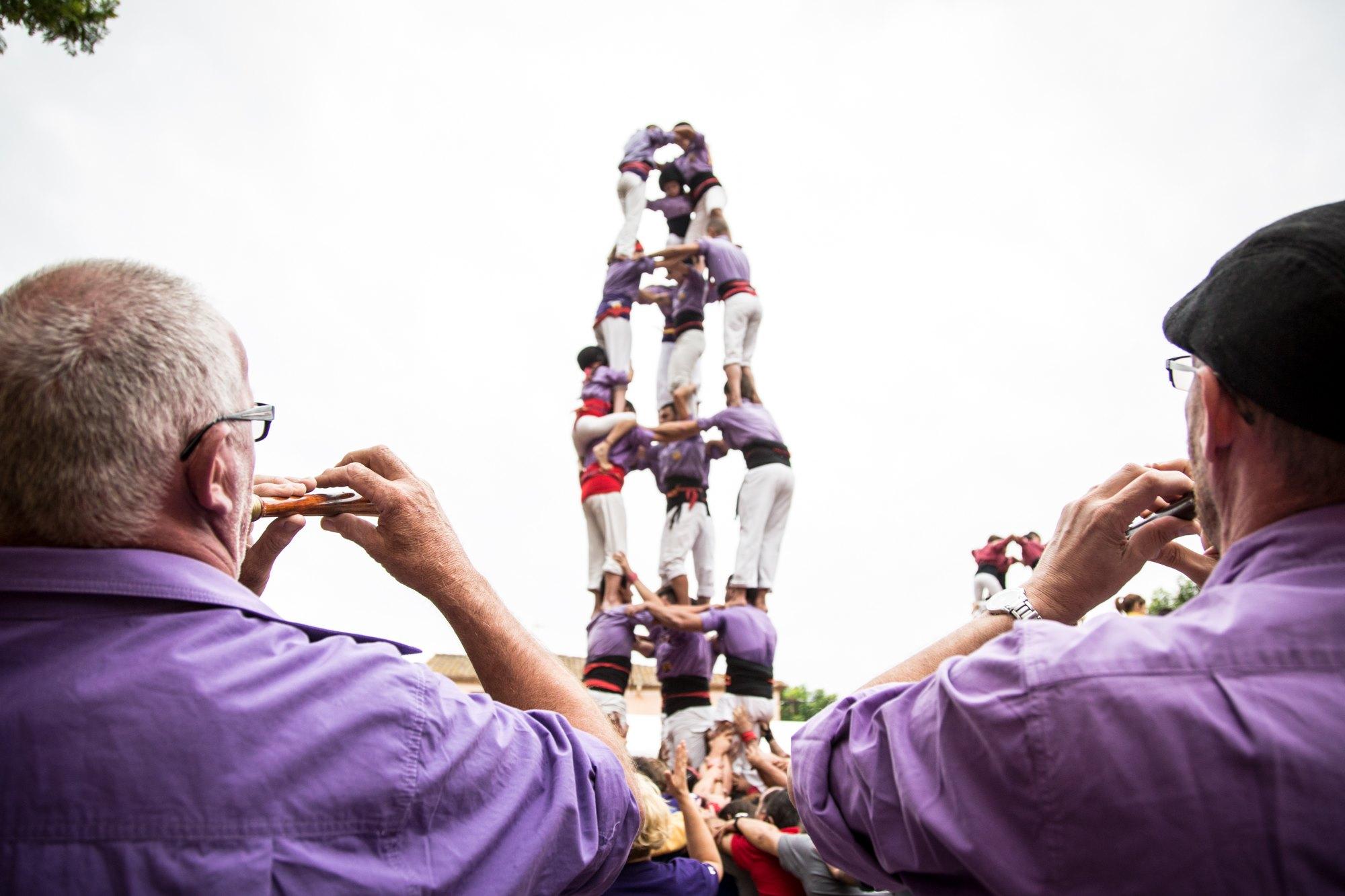 Castellers y su tradición